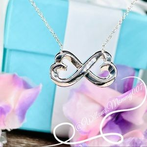Tiffany & Co. Paloma Picasso Double Loving Heart Pendant in Sterling Silver